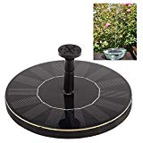 Hot Solar-power Fountain Brushless Pump Plants Watering Kit with Monocrystalline Solar Panel for Bath Garden Pond